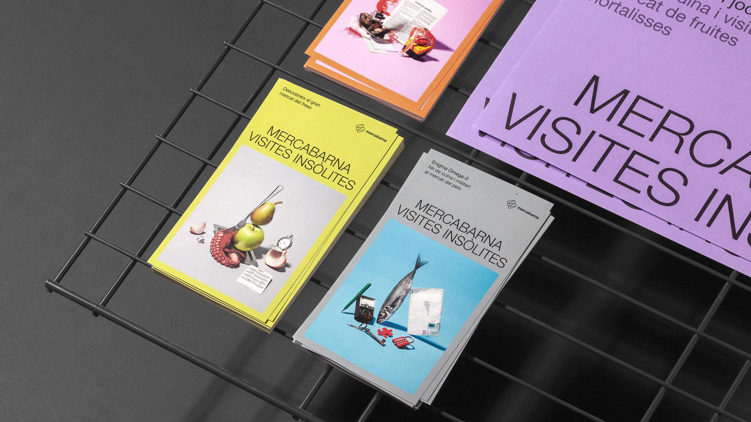 Campanya de comunicació amb pòsters i flyers